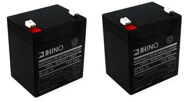 Electric Scooter Batteries Includes 2 12v 5ah