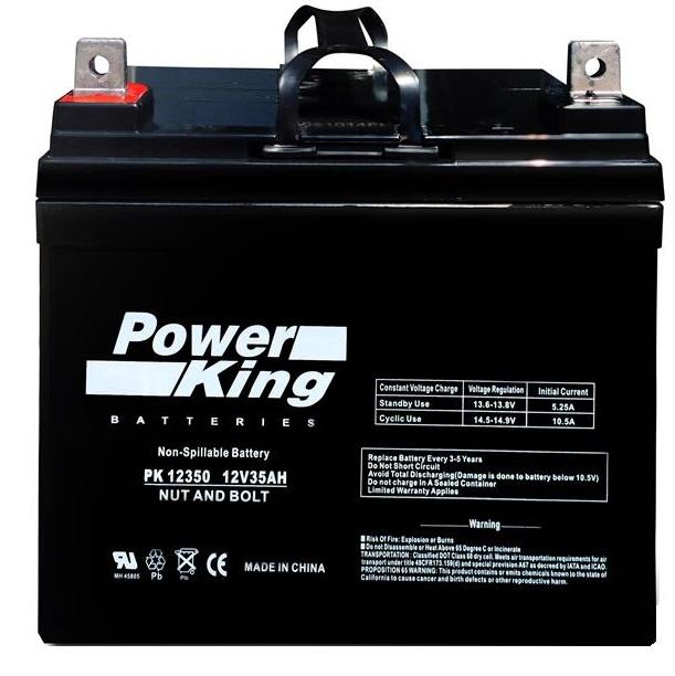 John Deere X300 Mower Cca330 Replacement Battery