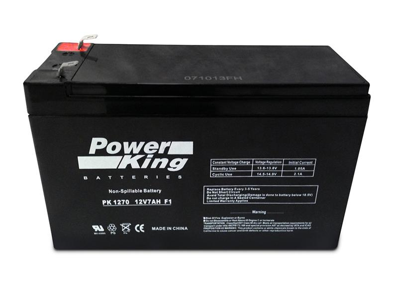 Adt Dsc Power 832 12v 7ah Alarm Battery